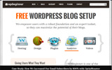 WORDPRESS WEBSITE BLOG SETUP